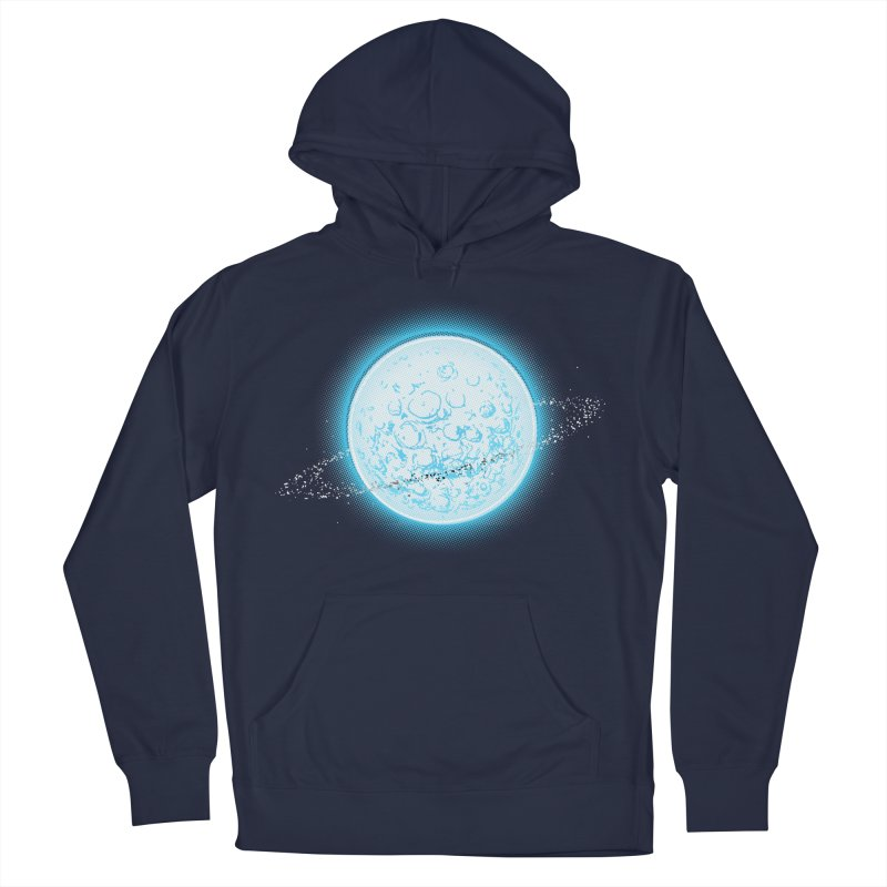 Lunar Orbit Men's French Terry Pullover Hoody by Barry Blankenship Shirts