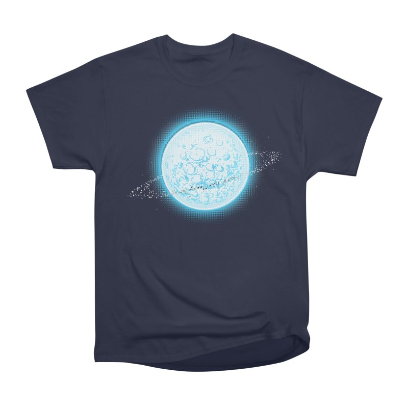 Lunar Orbit Men's Heavyweight T-Shirt by Barry Blankenship Shirts