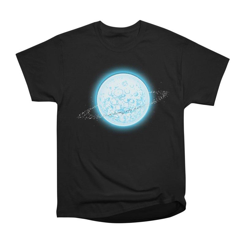 Lunar Orbit Men's Heavyweight T-Shirt by Barry Blankenship Shirts