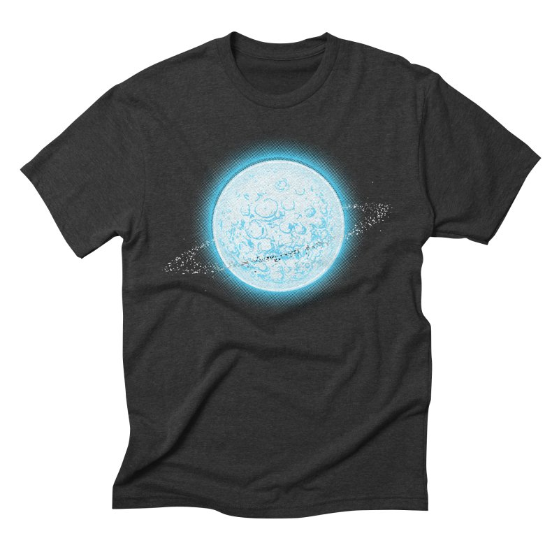 Lunar Orbit Men's Triblend T-Shirt by Barry Blankenship Shirts