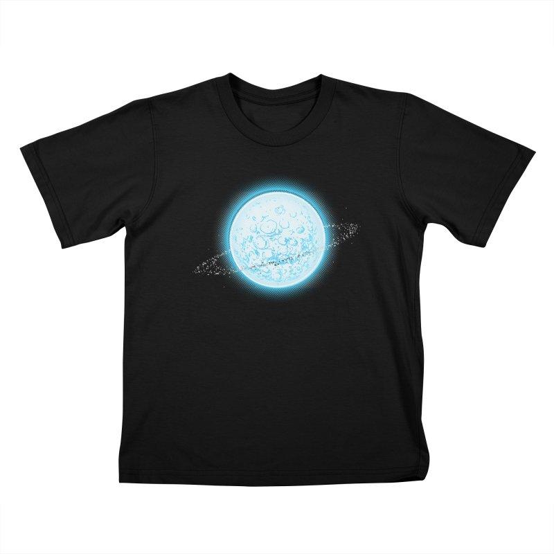Lunar Orbit Kids T-Shirt by Barry Blankenship Shirts