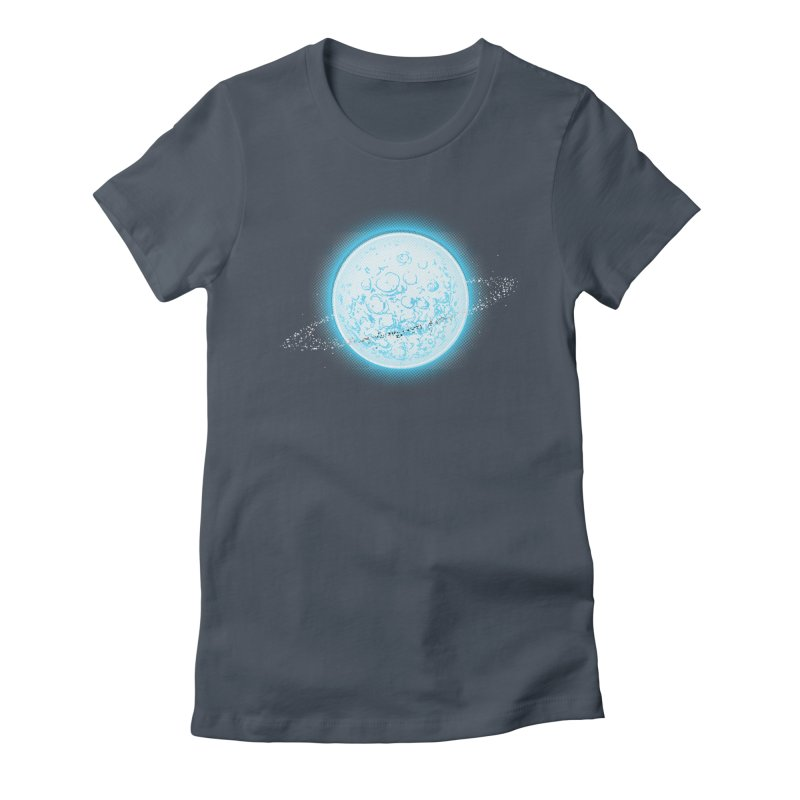Lunar Orbit Women's T-Shirt by Barry Blankenship Shirts