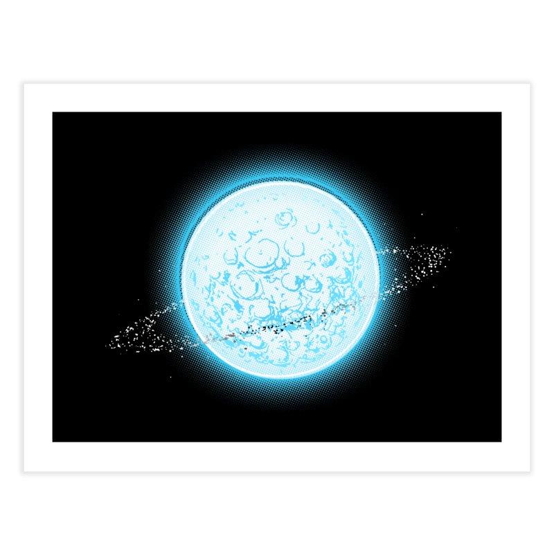 Lunar Orbit Home Fine Art Print by Barry Blankenship Shirts