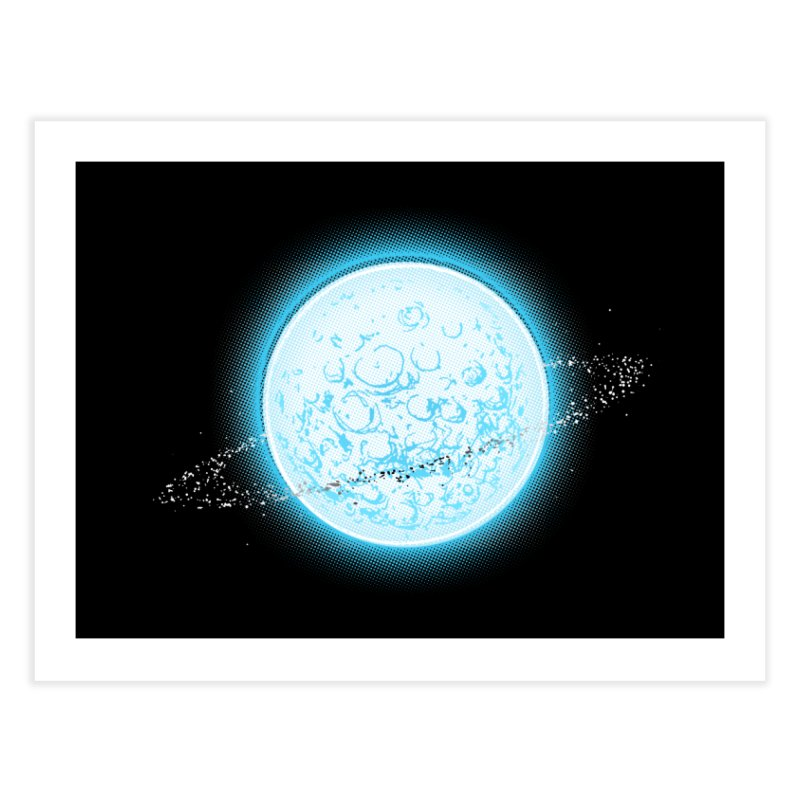 Lunar Orbit Home Fine Art Print by Barry Blankenship Shirts