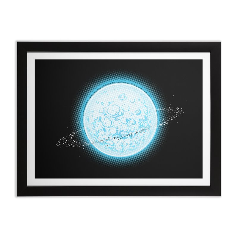Lunar Orbit Home Framed Fine Art Print by Barry Blankenship Shirts