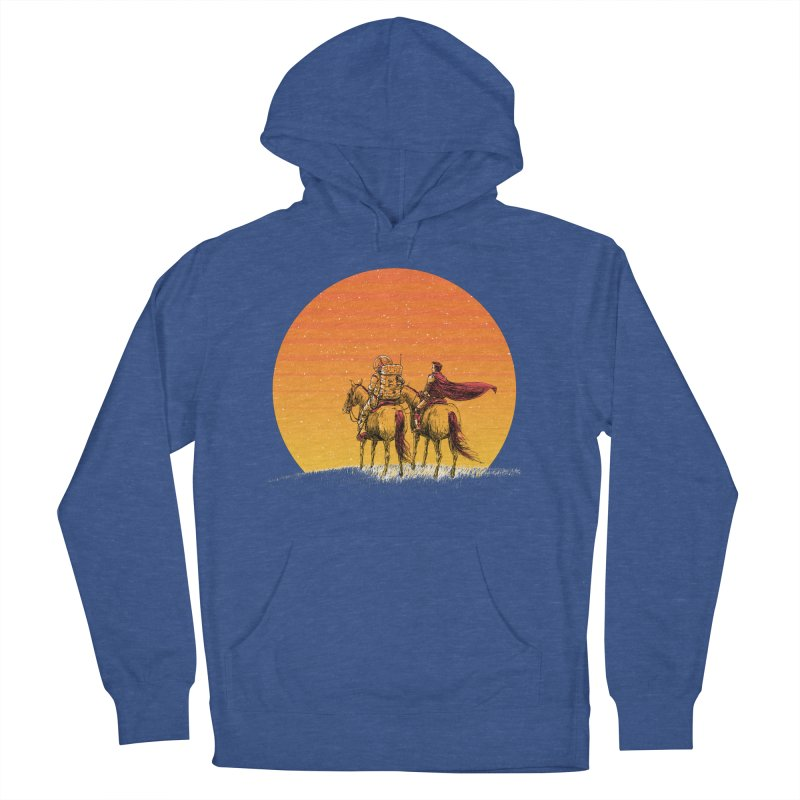 Good Old Days Men's French Terry Pullover Hoody by Barry Blankenship Shirts
