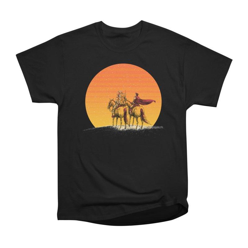 Good Old Days Women's Heavyweight Unisex T-Shirt by Barry Blankenship Shirts