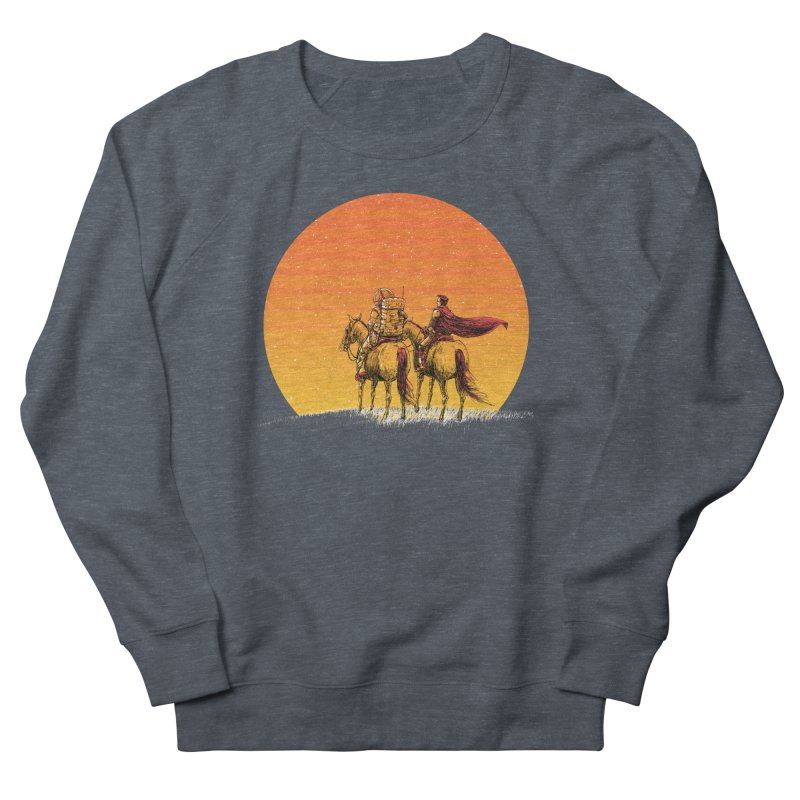 Good Old Days Women's French Terry Sweatshirt by Barry Blankenship Shirts