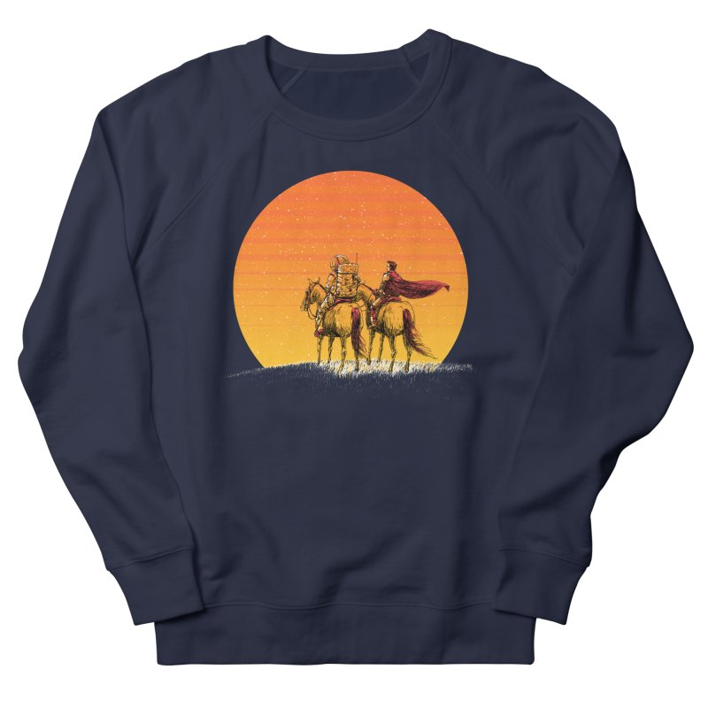 Good Old Days Men's French Terry Sweatshirt by Barry Blankenship Shirts
