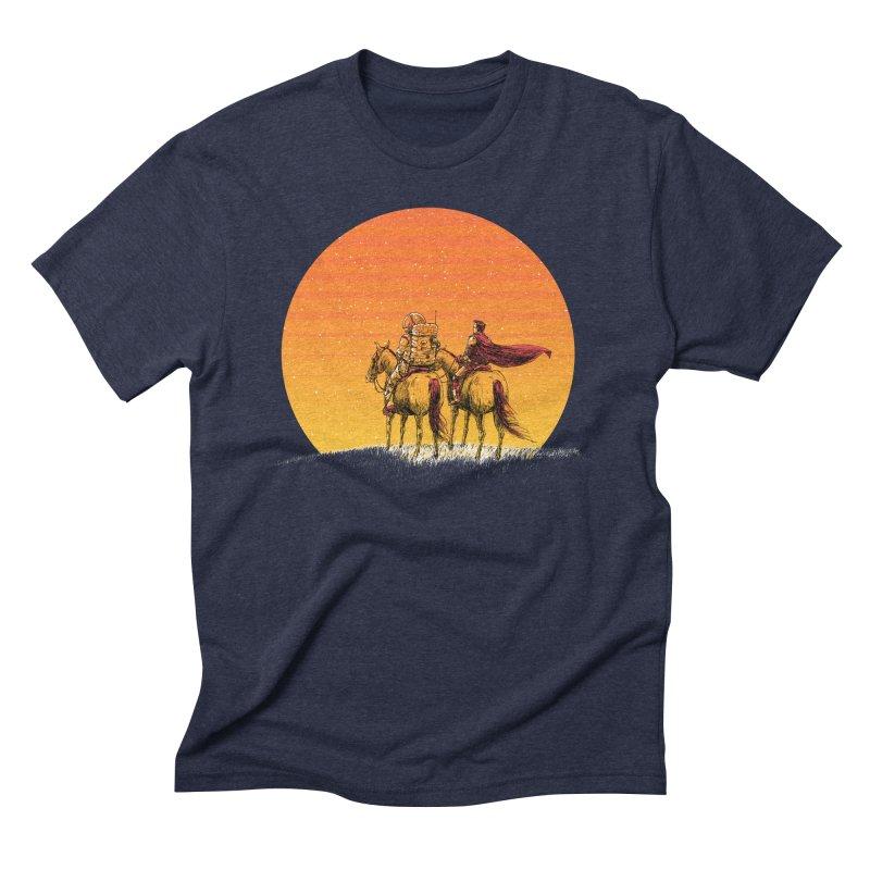 Good Old Days Men's Triblend T-Shirt by Barry Blankenship Shirts