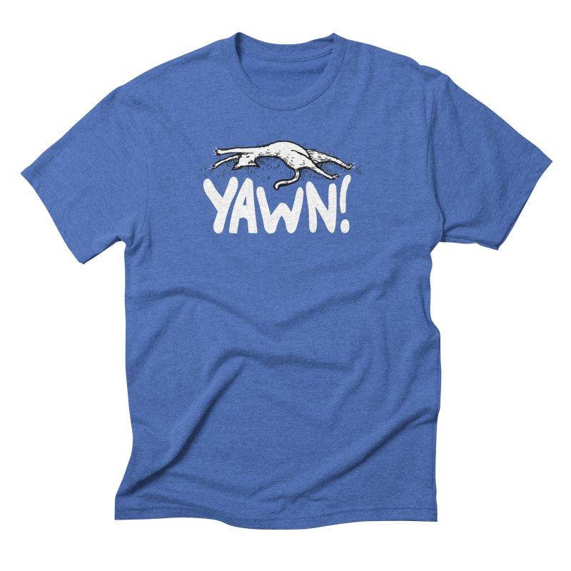 Yawn! Men's Triblend T-Shirt by Barry Blankenship Shirts