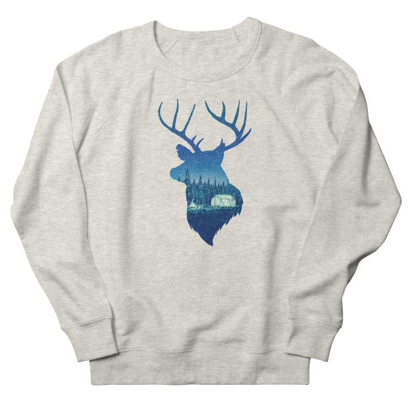 Deer Tent Men's Sweatshirt by Barry Blankenship Shirts