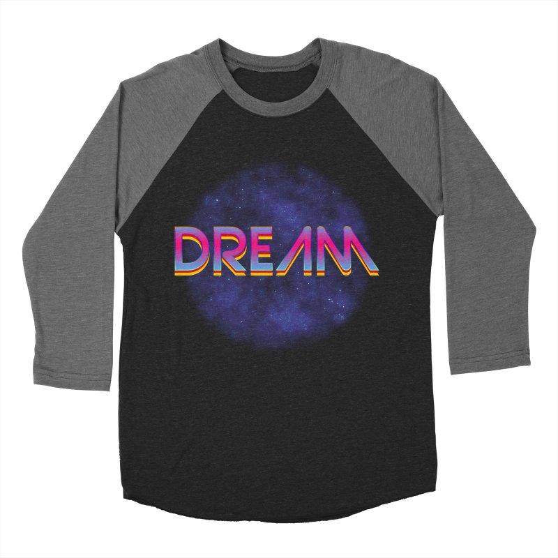 Dream Men's Baseball Triblend Longsleeve T-Shirt by Barry Blankenship Shirts