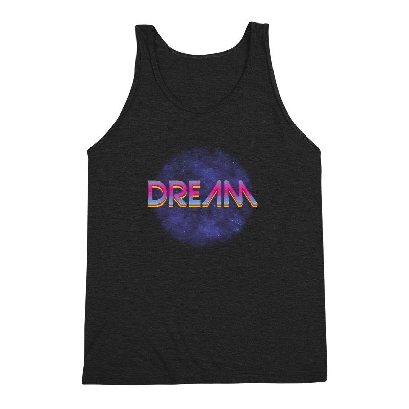 Dream Men's Triblend Tank by Barry Blankenship Shirts