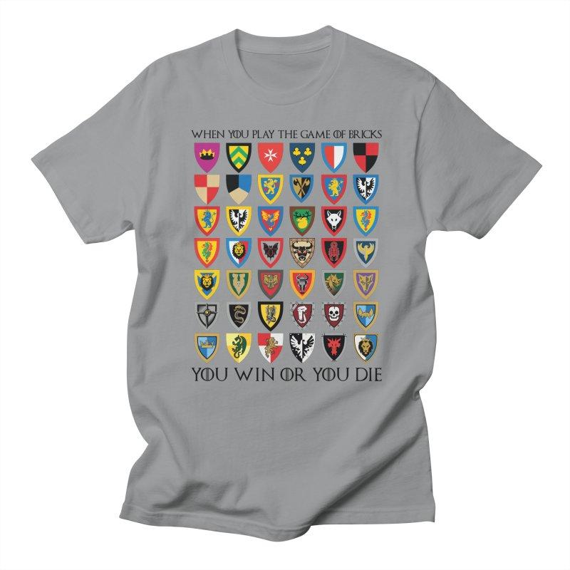 Game Of Bricks Men's Regular T-Shirt by Christoph Bartneck's Design Shop