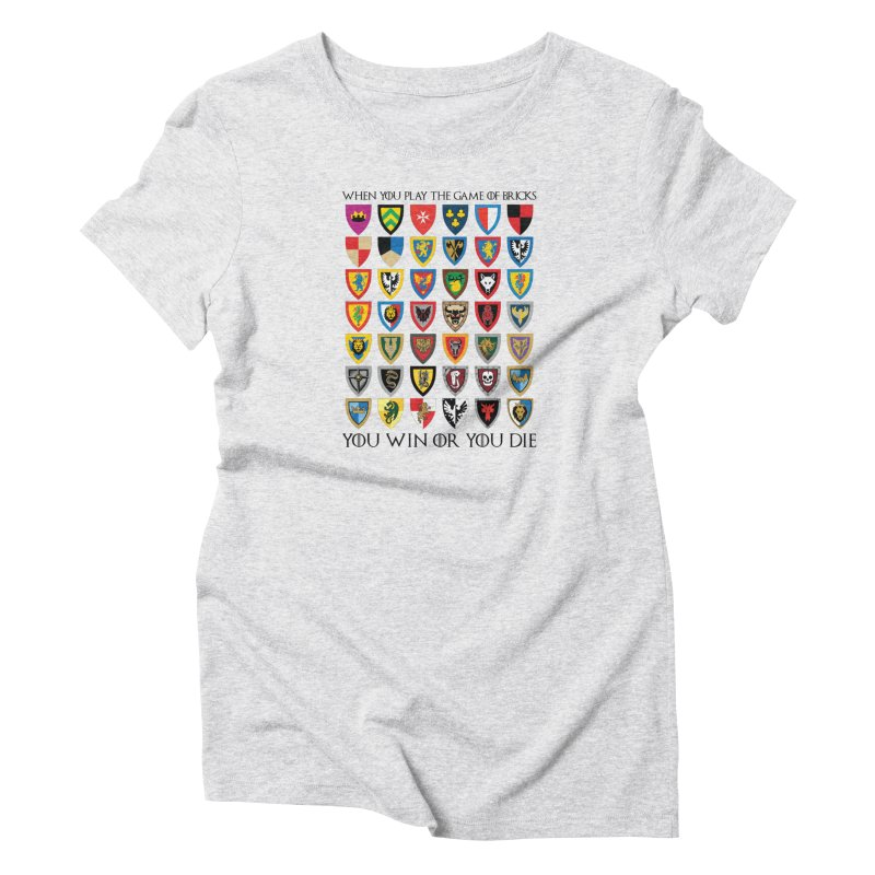 Game Of Bricks Women's T-Shirt by Christoph Bartneck's Design Shop