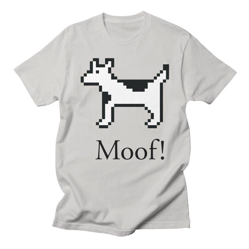 Moof! Men's T-Shirt by Christoph Bartneck's Design Shop
