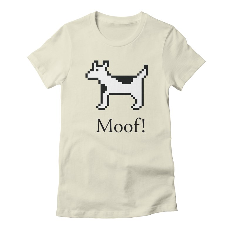 Moof! Women's T-Shirt by Christoph Bartneck's Design Shop