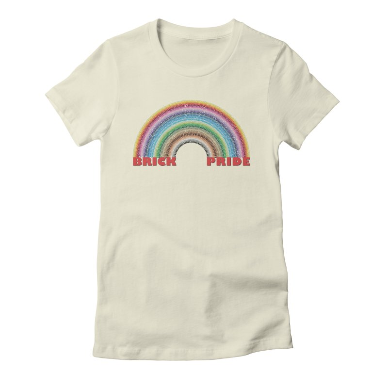 Brick Pride Women's T-Shirt by Christoph Bartneck's Design Shop