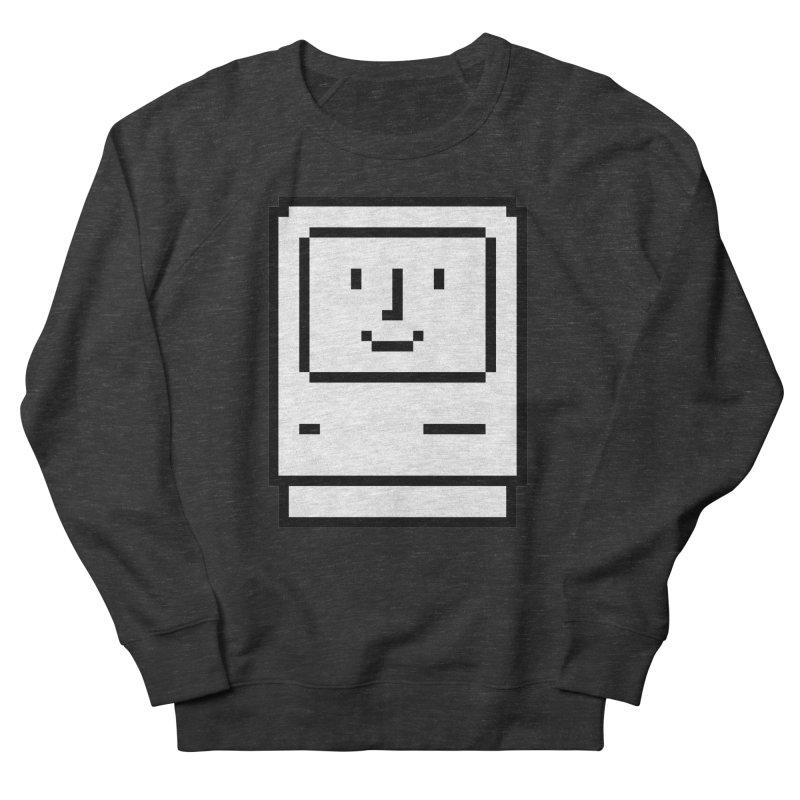 Happy Mac Men's Sweatshirt by Christoph Bartneck's Design Shop