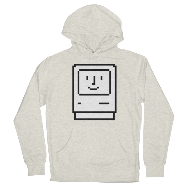 Happy Mac Men's Pullover Hoody by Christoph Bartneck's Design Shop