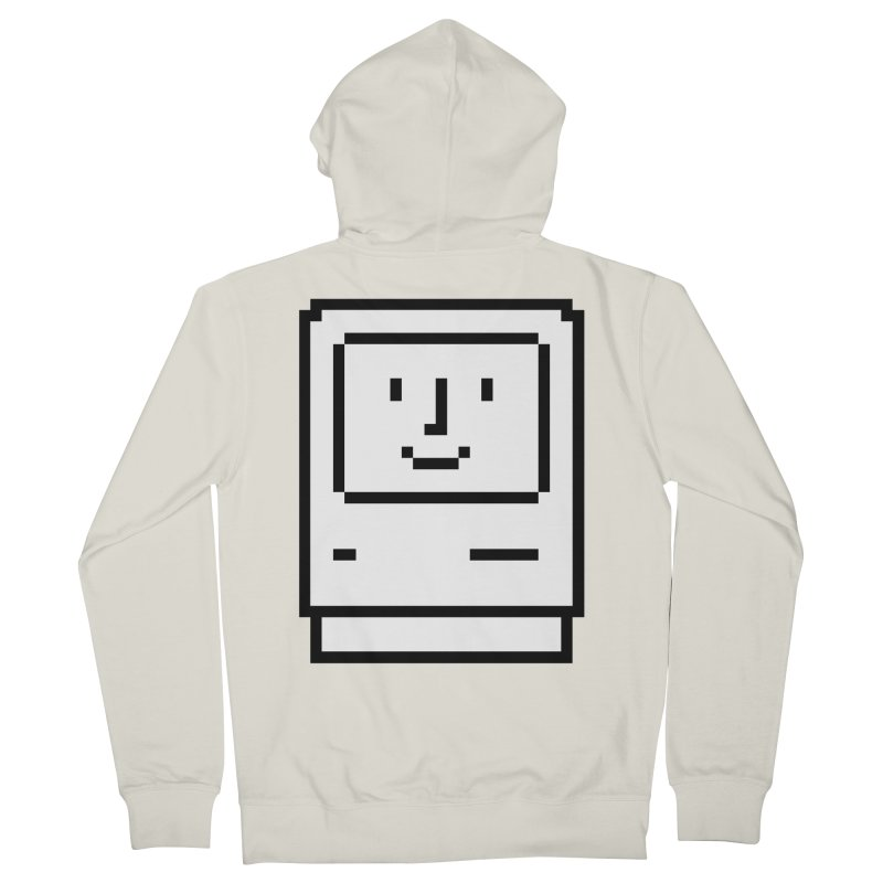 Happy Mac Women's French Terry Zip-Up Hoody by Christoph Bartneck's Design Shop