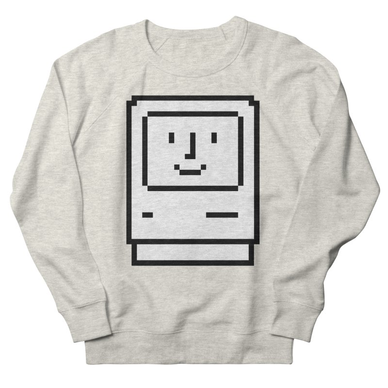 Happy Mac Men's Sweatshirt by Christoph Bartneck's Design Shop