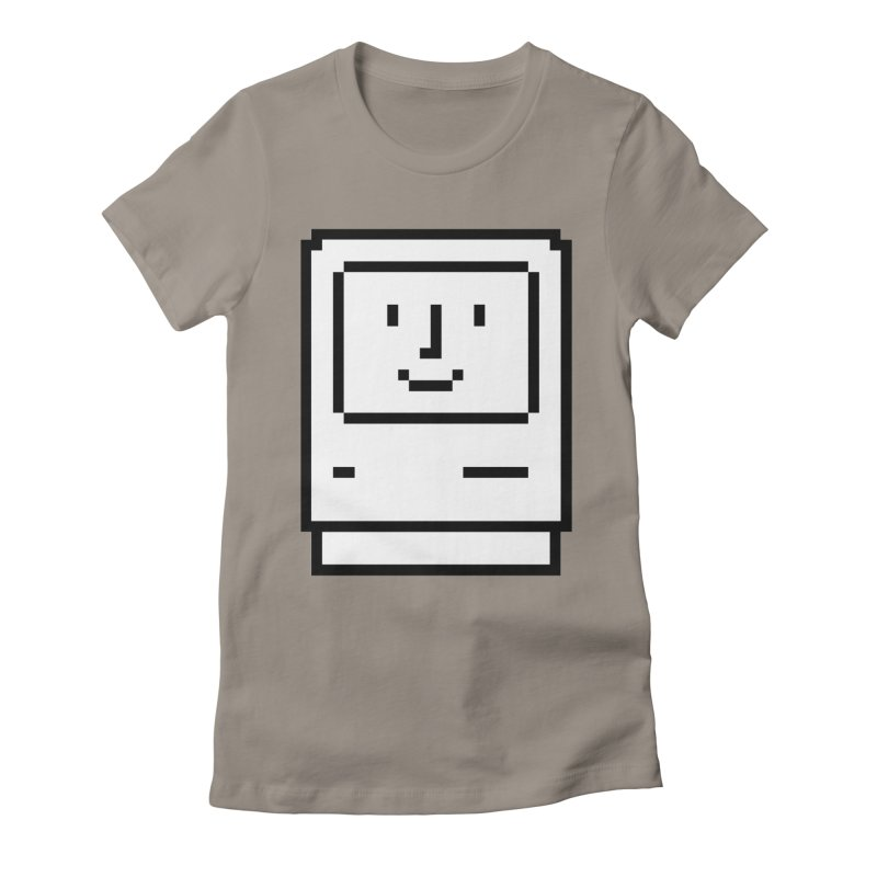 Happy Mac Women's T-Shirt by Christoph Bartneck's Design Shop