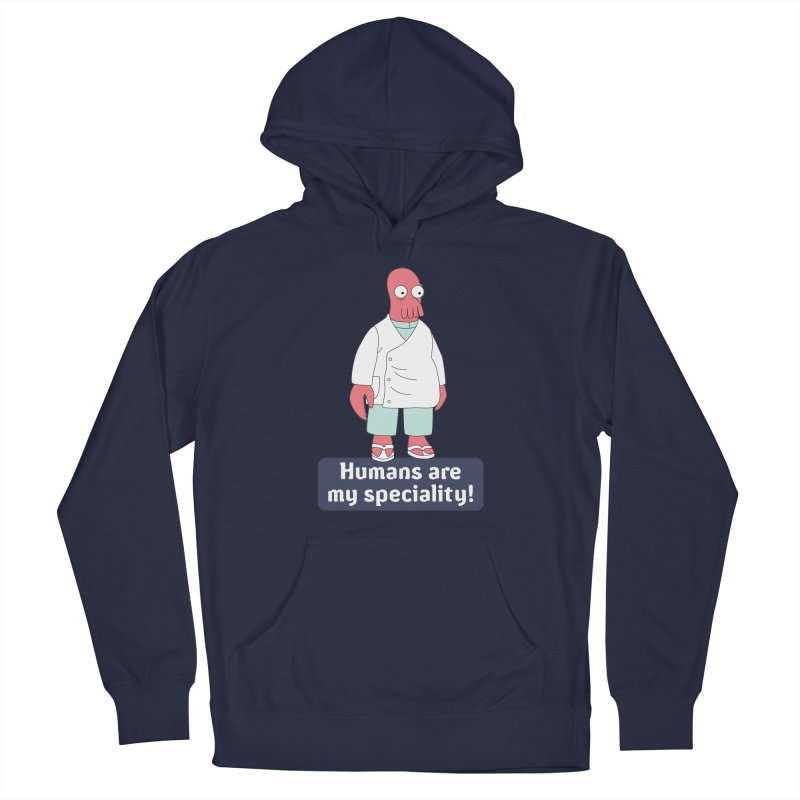 Humans Are My Speciality Men's Pullover Hoody by Christoph Bartneck's Design Shop