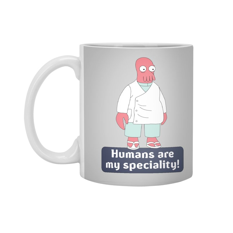 Humans Are My Speciality Accessories Mug by Christoph Bartneck's Design Shop