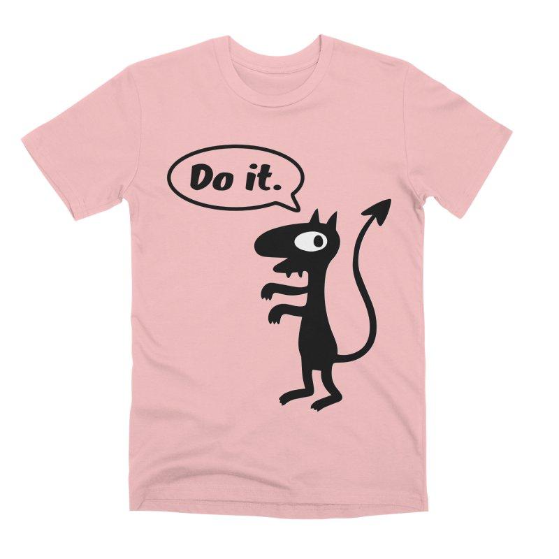 Do it! Men's Premium T-Shirt by Christoph Bartneck's Design Shop