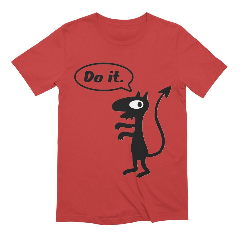 Do it! Men's T-Shirt by Christoph Bartneck's Design Shop