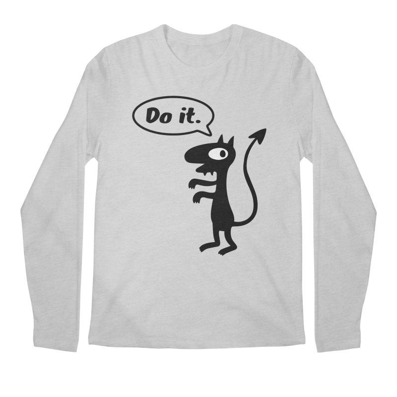 Do it! Men's Longsleeve T-Shirt by Christoph Bartneck's Design Shop