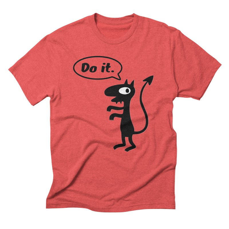 Do it! Men's T-Shirt by Christoph Bartneck's Design Shop