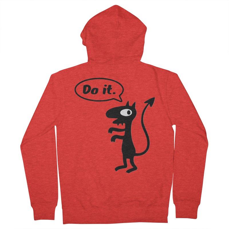 Do it! Men's Zip-Up Hoody by Christoph Bartneck's Design Shop