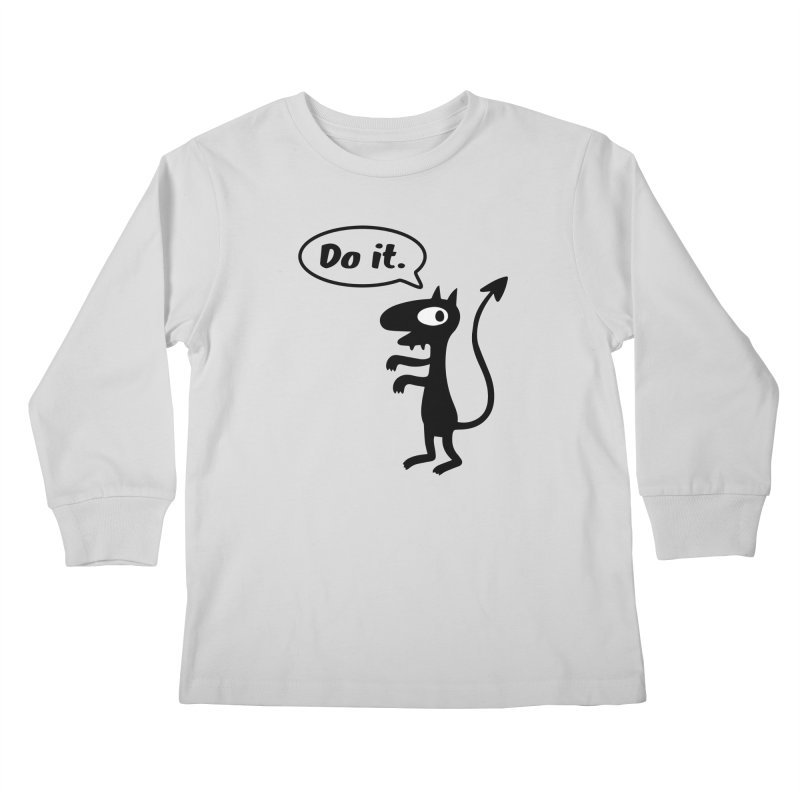 Do it! Kids Longsleeve T-Shirt by Christoph Bartneck's Design Shop