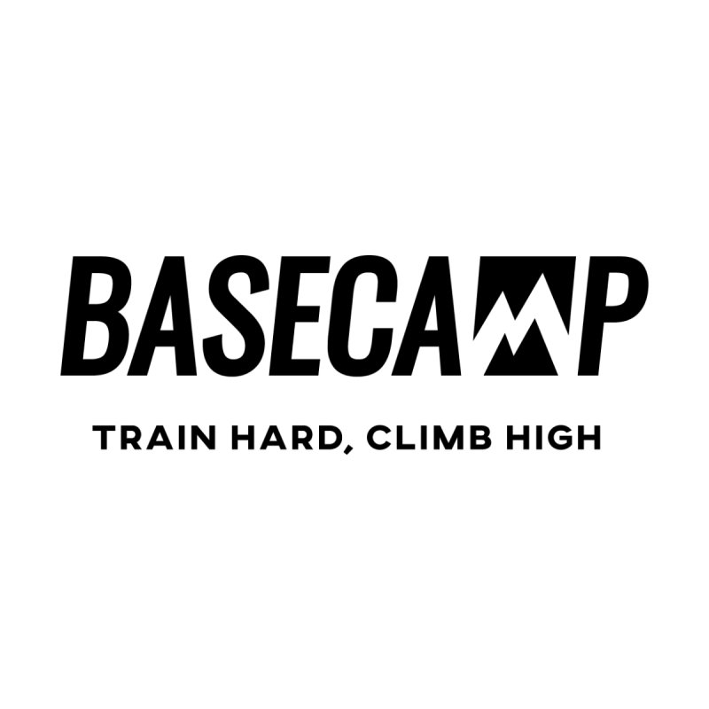 Black Logo by Base Camp Team Merch