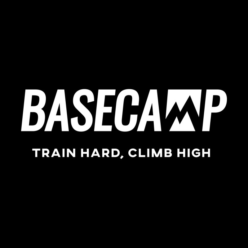 White Logo by Base Camp Team Merch