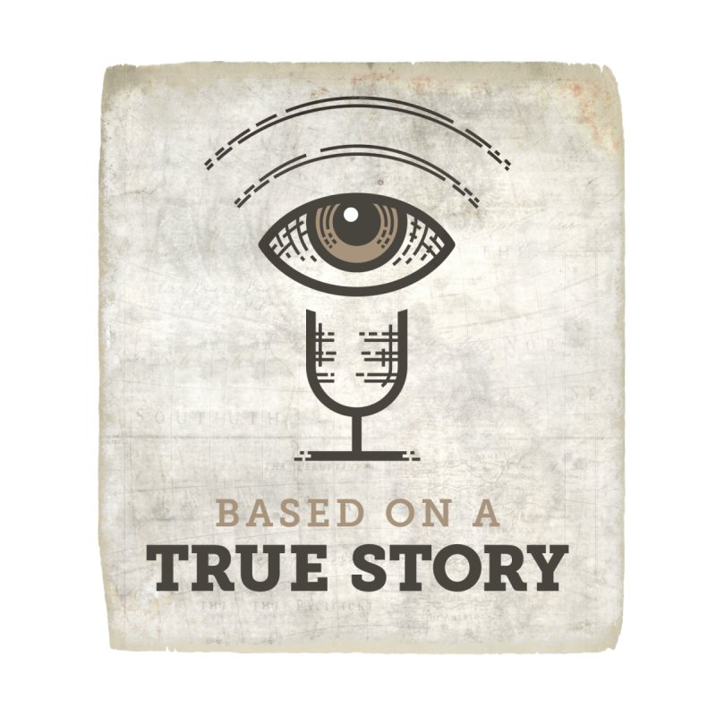 Based on a True Story Logo on Paper by Based on a True Story Podcast Merch