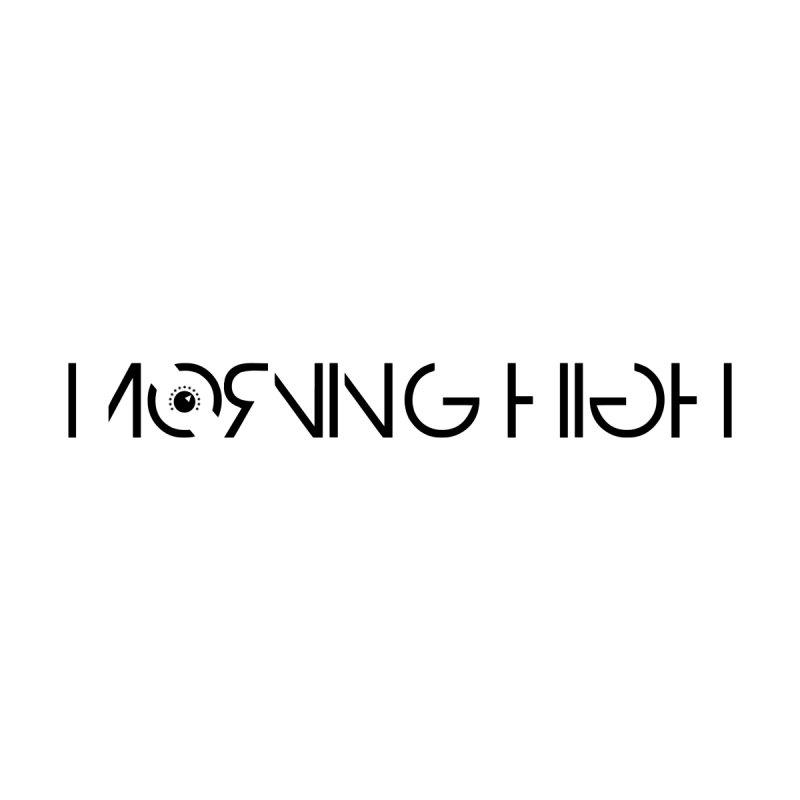 Morning High Logo (b) Men's T-Shirt by BassMerch.co