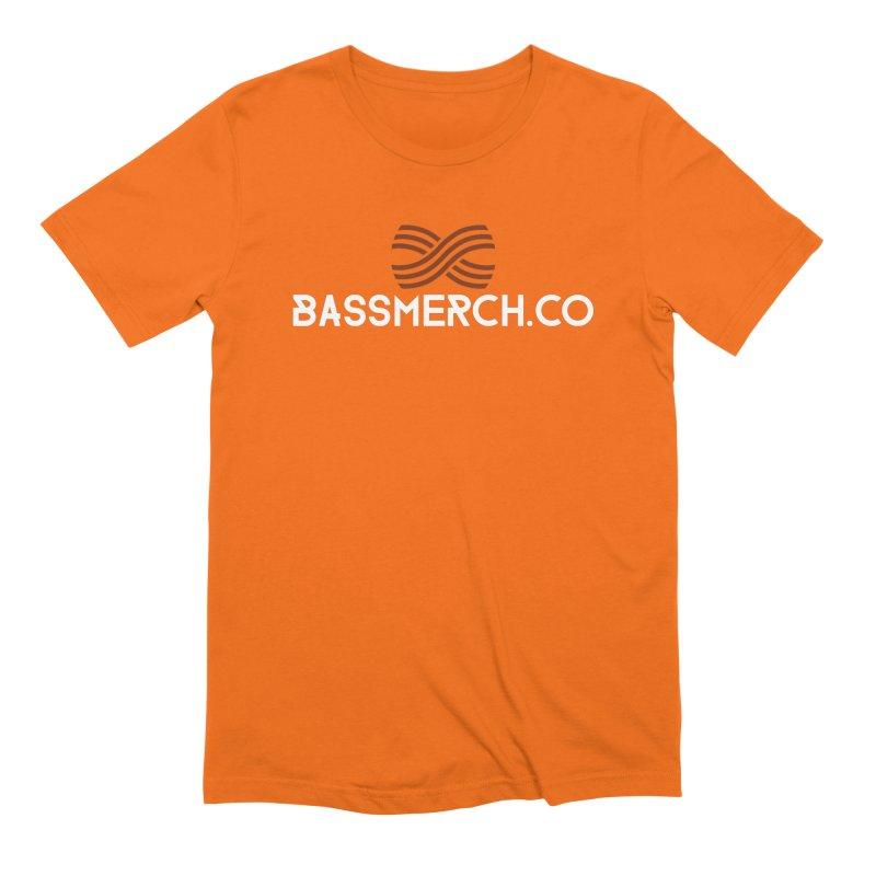 BassMerch.co Logo Men's T-Shirt by BassMerch.co