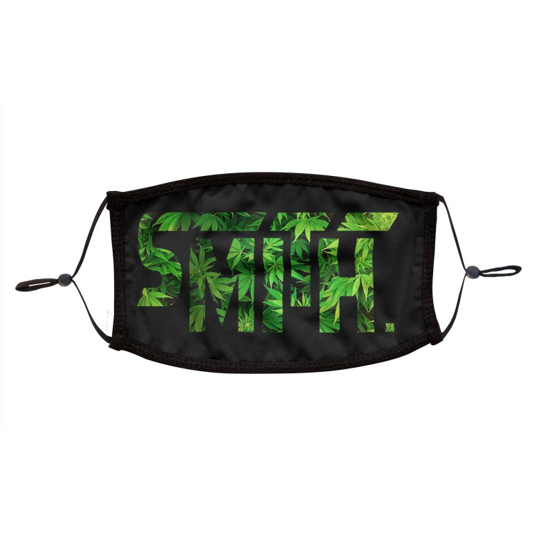Smith. Logo (green) Accessories Face Mask by BassMerch.co
