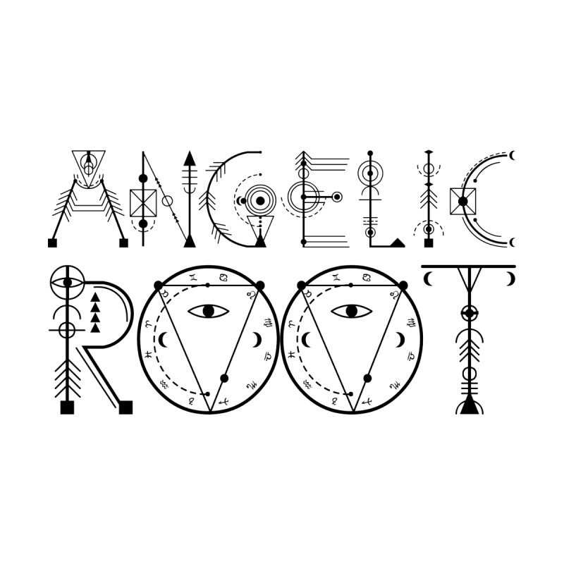 Angelic Root Logo (b) Men's T-Shirt by BassMerch.co