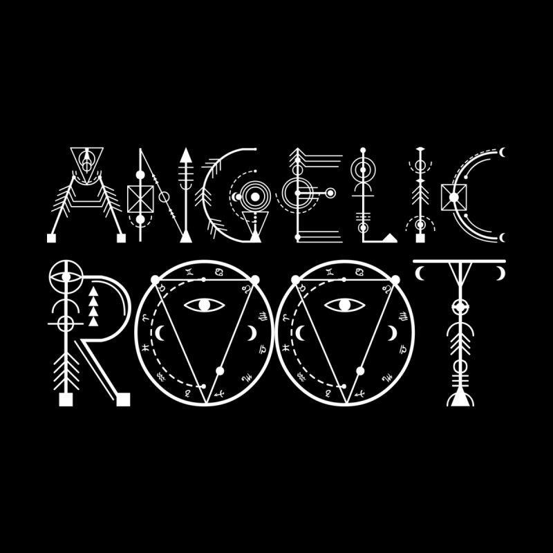 Angelic Root Logo (w) Accessories Face Mask by BassMerch.co