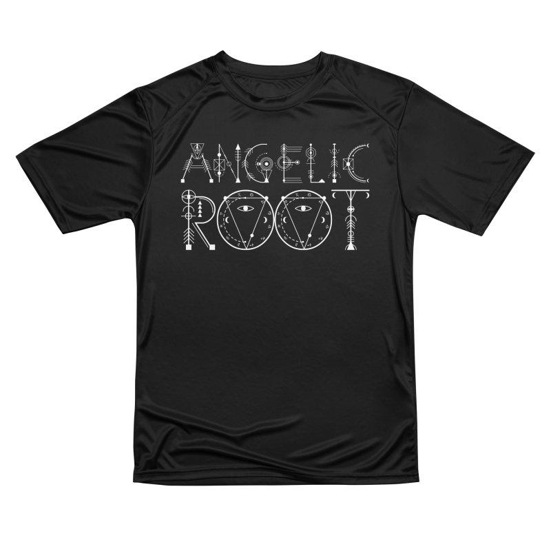 Angelic Root Logo (w) Men's T-Shirt by BassMerch.co