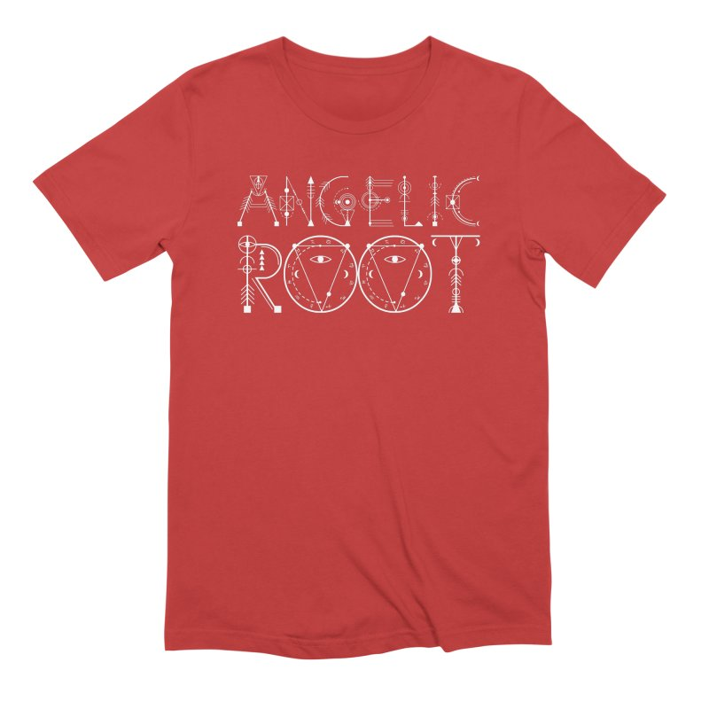 Angelic Root Logo (w) Men's T-Shirt by BassMerch.co