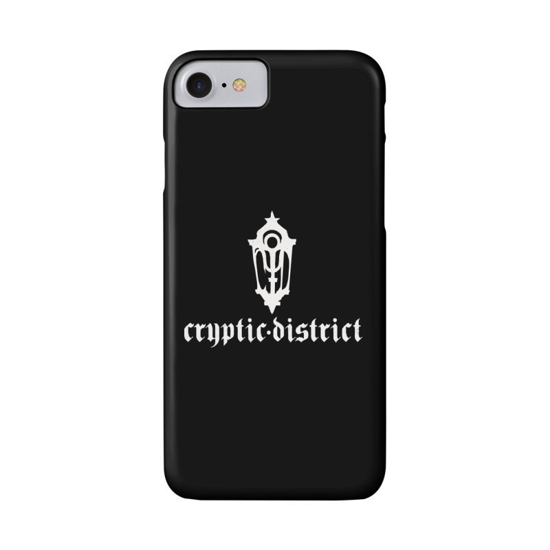 Cryptic Distric label emblem (w) Accessories Phone Case by BassMerch.co