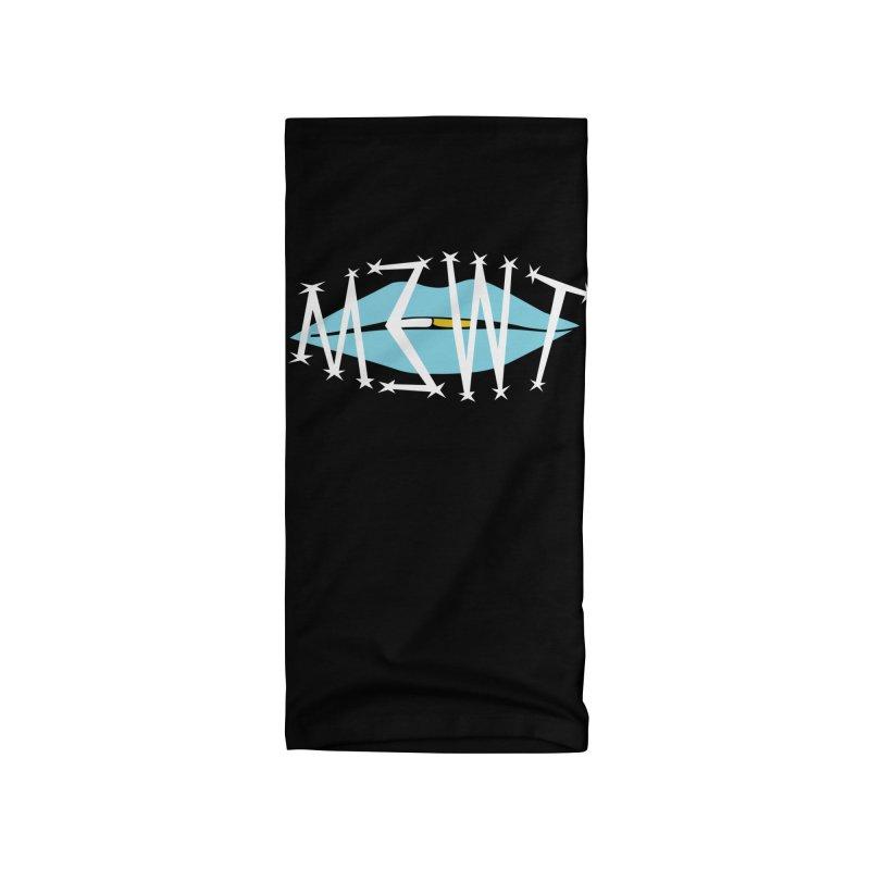 M3WT Logo (blue) Accessories Neck Gaiter by BassMerch.co