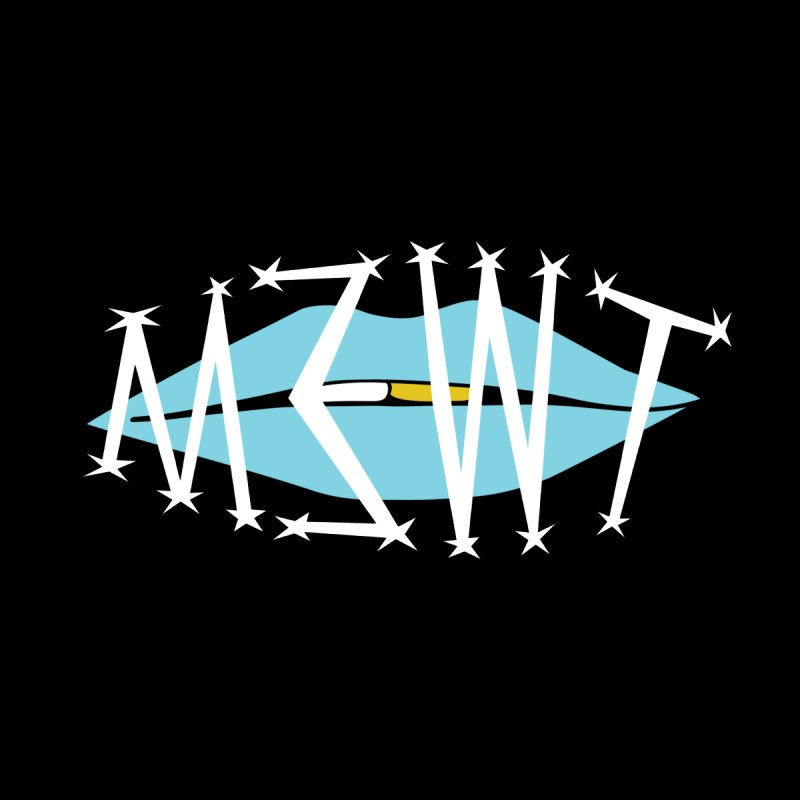 M3WT Logo (blue) Kids Pullover Hoody by BassMerch.co