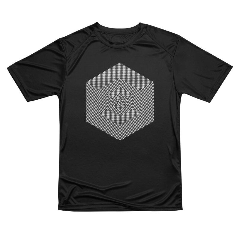 Fibonacci Cube Men's T-Shirt by BassMerch.co